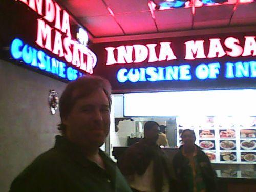 Mike at India Masala