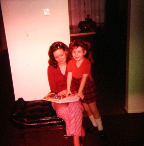 Slides to the Light - Mom and I, Reading (1975 or 1976)