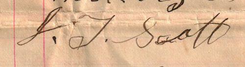 Signature - JT Scott
