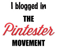 I blogged in the Pintester Movement!